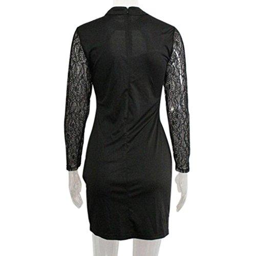 640cd4883e9458 ... Party Langarm Kleid Mädchen Sommer Frauen Minikleid Damen Kleider Club  Bodycon Mode Teen Cocktailkleid Schwarz Elegant ...