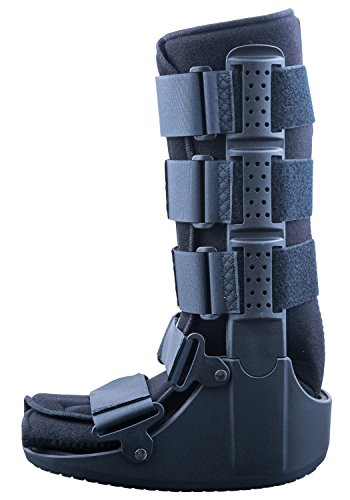 Mars Wellness Premium Polymer Tall Cam Walker Fracture Ankle/Foot Stabilizer Boot - L