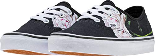 Vans Herren Authentic Core Classic Sneakers (6.5 M US Women / 5 M US Men, (Winter Floral) Black)