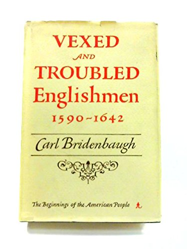 Vexed and Troubled Englishmen 1590-1642
