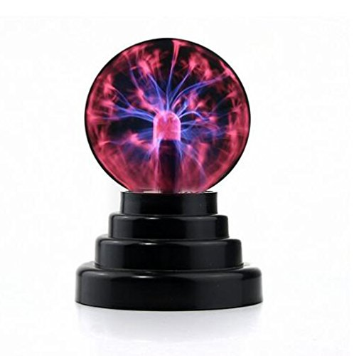 Crystallove USB or Battery Operated LED Plasma Ball Decorative Ligh ()