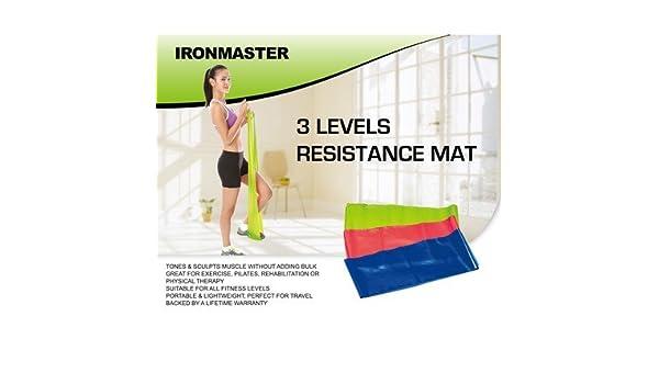 Indispensable ironmaster 3 niveles resistencia Mat (Neoteric diseño) (B77): Amazon.es: Deportes y aire libre