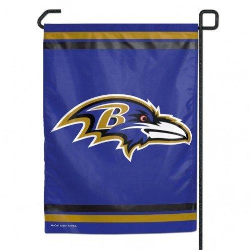 WinCraft NFL Baltimore Ravens WCR55766013 Garden Flag, 11