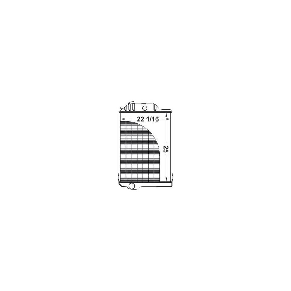 New Radiator AR48735 Fits John Deere 4320
