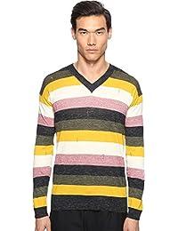 Mens Multistripe Sweater
