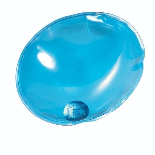 eBuyGB Reusable Gel Hand Warmer / Heat Pack - Instant Heating (Blue Oval)