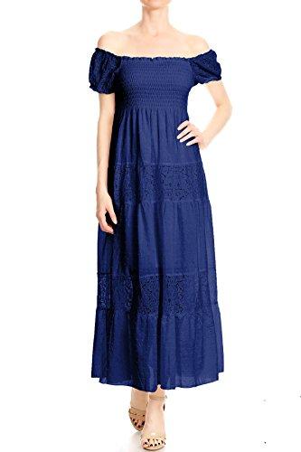 anna blue dress - 7