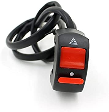 E-Bro 7//8 Handlebar Universal Motorcycle Scooter ATV Headlight ON-OFF Kill Stop Switch