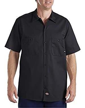 Drop Ship 6 oz. Industrial Short-Sleeve Cotton Work Shirt
