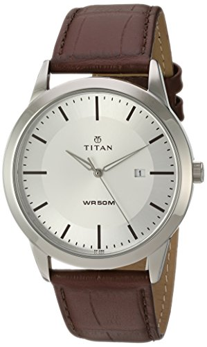 titan-mens-neo-quartz-metal-and-leather-automatic-watch-colorbrown-model-1584sl03