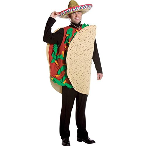 Rubie's Men's Taco Costume, Multi, One (Taco Costume)