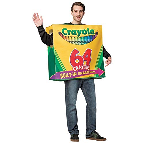 Crayola-64 Ct Box w/Sharpener ()