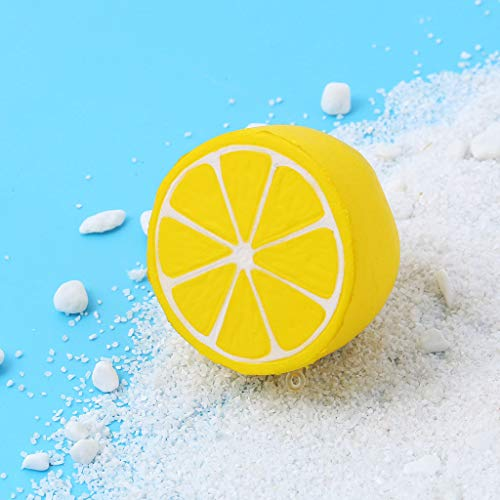 2019HoHo Decompression Toys for Adults Kits Cute Lemon Squeeze Squishy Toys Stress Anxiety Relief Toys -