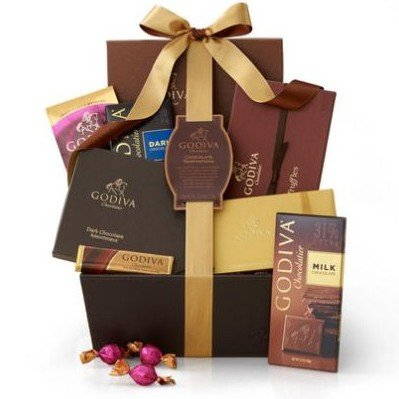 Chocolate Temptations Gift Basket by Gift Basket