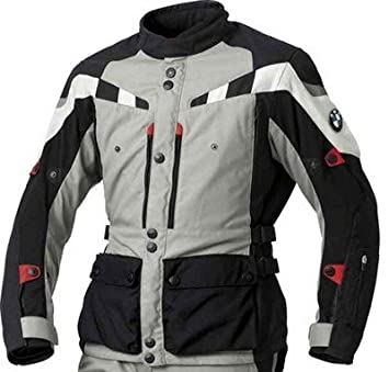 BMW Genuine Motorcycle Motorrad GS Dry jacket, mens - Color: Grey/Black - Size: EU 52 US 42