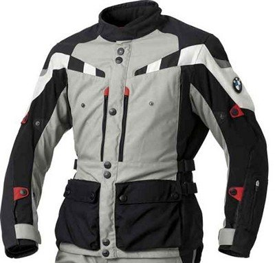 BMW Genuine Motorcycle Motorrad GS Dry jacket, men's - Color: Grey/Black - Size: EU 54 US 44 ()