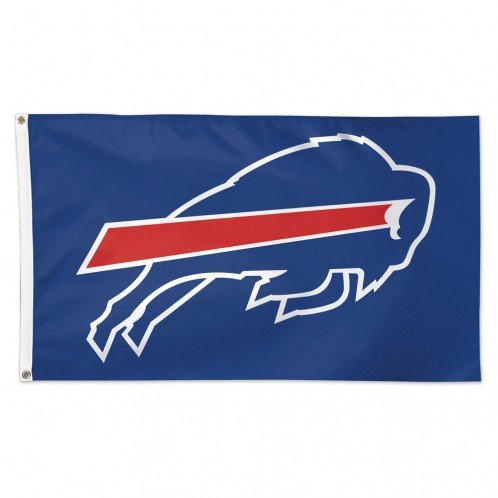 Wincraft NFL Buffalo Bills 01801115 Deluxe Flag, 3' x ()