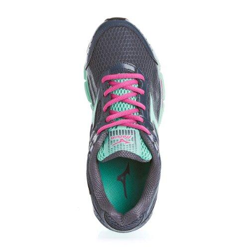 MIZUNO Wave Resolute 2 Zapatilla de Running Señora Gris/Verde