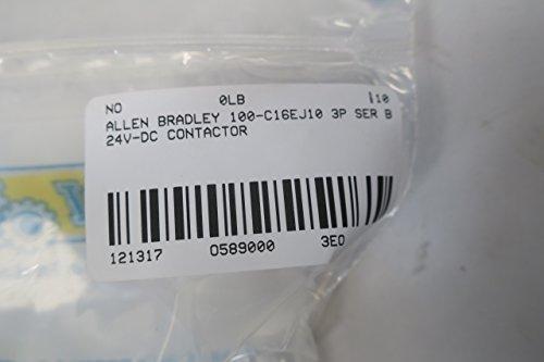 NEW ALLEN BRADLEY 100-C16EJ10 CONTACTOR SER B 30A 24V-DC 10HP D589000 by Allen-Bradley (Image #8)