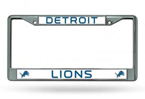 Rico Detroit Lions Chrome License Plate Frame Flyers Online