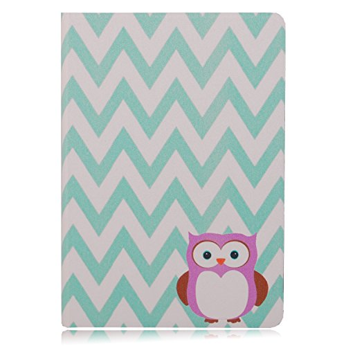 """6"""" Kindle Paperwhite 1 2 3G Wifi Case,TsuiWah(TM) Fashion Ripple Colorful Owl Design Silk Pattern PU Leather Flip Full Body Protector Case Cover Skin For 6"""" Amazon Kindle Paperwhite(Both 2012 20130and 2014 versions with 6"""" Display Kindle Paperwhite 3G, 6"""" High-Resolution Display (212 ppi) with Built-in Light, Free 3G + Wi-Fi)"""