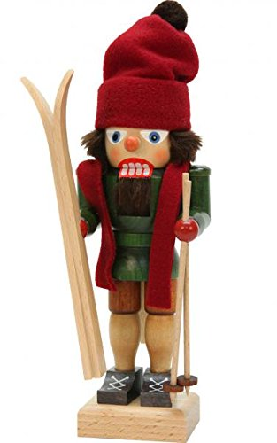Christian Ulbricht Nutcracker Skier by Christian Ulbricht