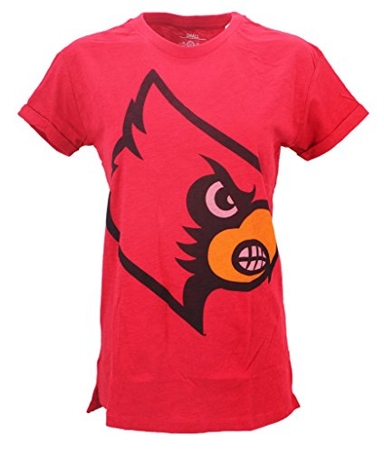Three Square Women' s NCAA Louisville Cardinals Mascot T-Shirt, Vols, X-Large ()