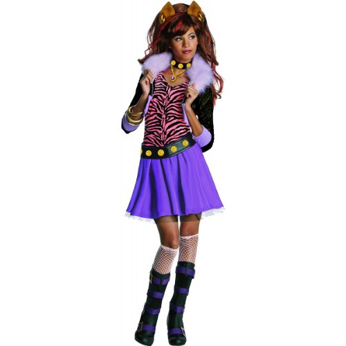 Monster High Clawdeen Wolf Costume - One Color - Large