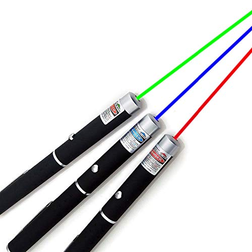 Green Red Blue Pen Visible Beam Light for Cat/Dog