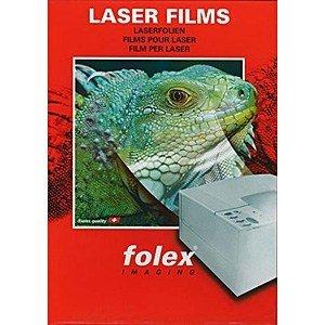 [해외]Folex OHP 필름 A3 (50 장) 컬러 레이저 센서 BG-711A3 / Folex OHP Film A3 (50 sheets) color Laser sensor BG-711A3