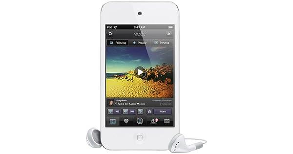 Amazon.com: Apple iPod Touch 64 GB 4ª generación Blanco ...