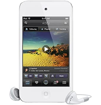 Amazon.com: Apple iPod Touch 64 GB 4ª generación Blanco ...