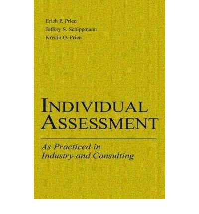 Individual Assessment: As Practiced in Industry and Consulting (Applied Psychology (Paperback)) (Paperback) - Common