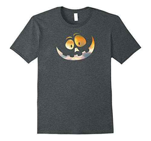 Mens Spooky Halloween Cheshire Grin Pumpkin Face T-shirt (Dawn) 3XL Dark (Dark Side Alice In Wonderland)