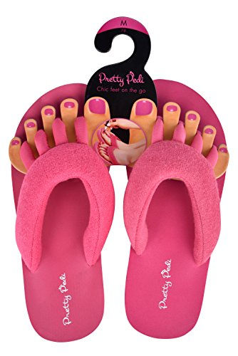 d00e64c05 Super Light Pretty Pedi Brand Pedicure Sandals For Women With Toe Separator  (Multiple Colors and