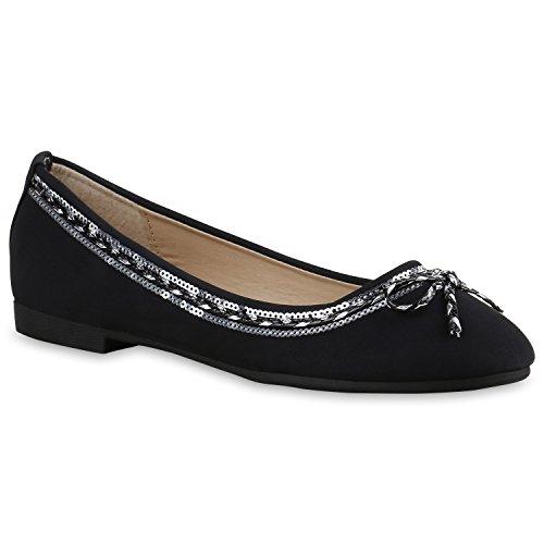 Stiefelparadies negro Stiefelparadies Mujer Bailarinas Stiefelparadies Mujer Mujer Bailarinas negro negro Stiefelparadies Bailarinas B0qIPP