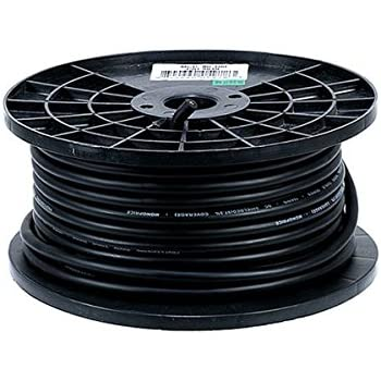 gls audio bulk microphone cable 300 39 black mic 300ft signal mike cable musical. Black Bedroom Furniture Sets. Home Design Ideas