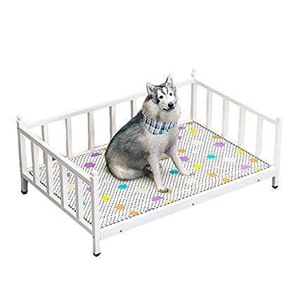 Lirongping Diy Wrought Iron Dog Bed Medium Sized Kennel