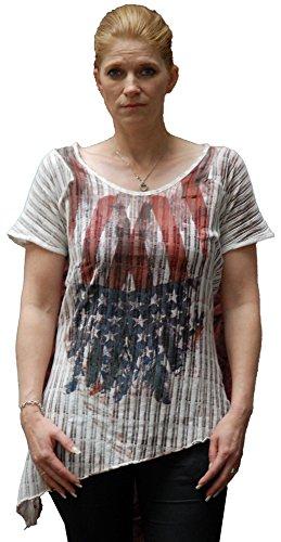 Key Largo, Flag, de Mujer Camiseta Rosewood