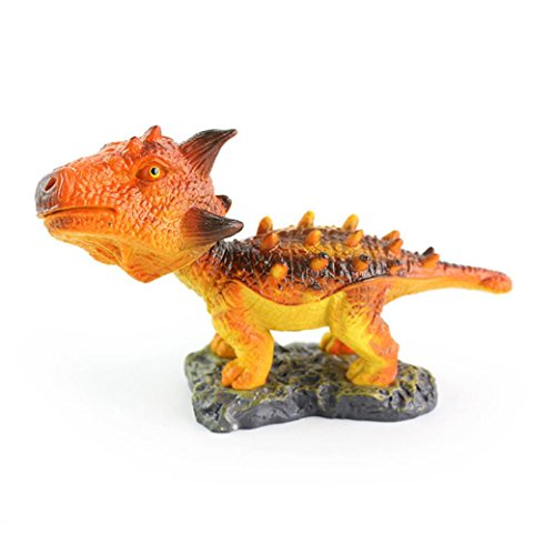 Gbell 1Pcs Shaking Head Dinosaur Toy- Educational Science Toy Simulated Toy For Toddlers Kids Boys GirlS (C)