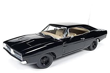 Amazon Com 1969 Dodge Charger Black Happy Birthday General Lee 1 18