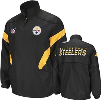 reputable site 4bee8 26180 Reebok Pittsburgh Steelers Big & Tall Sideline Hot Jacket ...