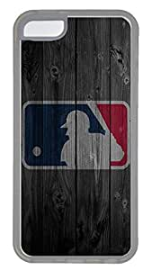iPhone 5C Case,Wood stripe Series Customize Ultra Slim Wood Mlb Hard Plastic PC Clear Case Bumper Cover for iPhone 5C