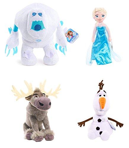 Frozen Disney Set of 4 Plush 8