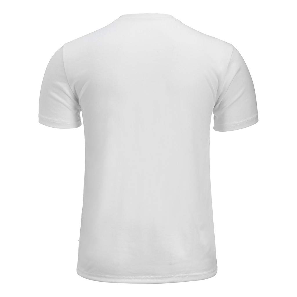 STORTO Mens Slim-Fit Quick-Dry Cotton Polo Shirt Printed Pattern Casual Soft Sports T-Shirts