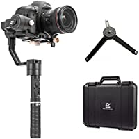 Zhiyun Crane Plus 3 axis Handheld Gimbal with Follow Focus 2.5kg Payload OLED Display for Canon 5D2, 5D3, 5D4, GH3, GH4, Nikon Sony DSLR Camera