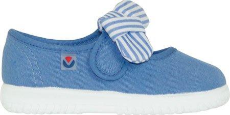 Victoria Mercedes Lona Pañuelo, Bailarinas Para Bebés Azul