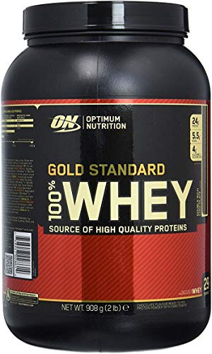 Amazon.com: Optimum Nutrition 100 Whey Protein Gold Standard Double Rich Chocolate 2 lbs.: Health & Personal Care