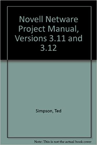 Hands-On Netware Guide to Novell Netware 3.11//3.12 With Projects