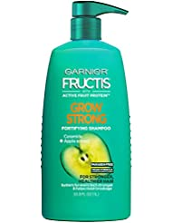 Garnier Fructis Grow Strong Shampoo, 33.8 Ounces